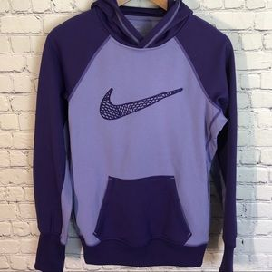 Nike Therma-Fit Purple Pullover Hoodie Small
